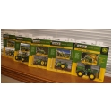 1:64 Scale State Tractor Series - #46, #47, #48, #49, #50 (New Hampshire, South Dakota, Arkansas, Louisiana, Hawaii)