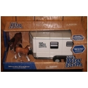 Ertl Big Farm - Horse Trailer w/ horse and colt - 1:16th scale - Stock #TBEK 46021